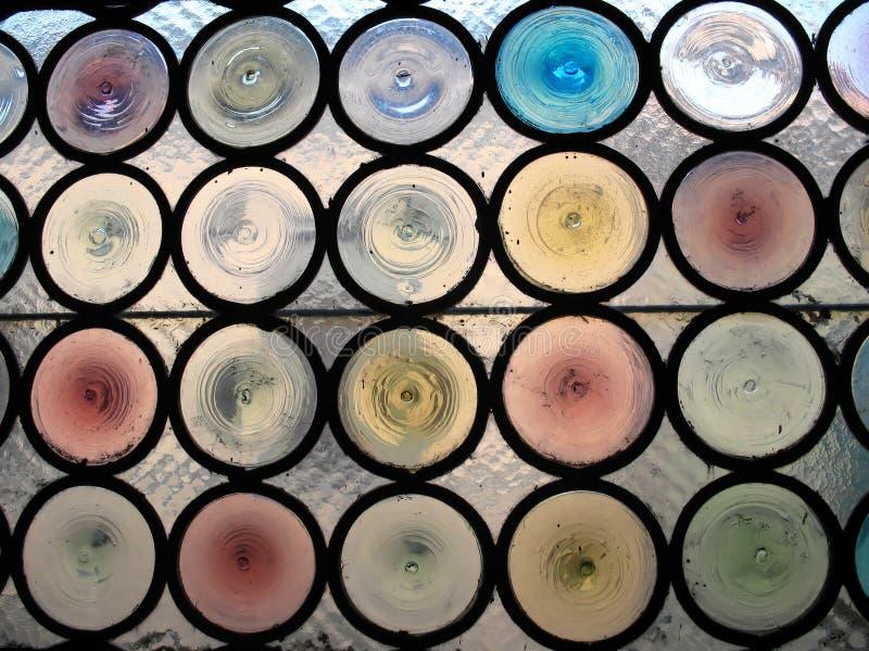 Buntglas-Fenster 6 stockfotos