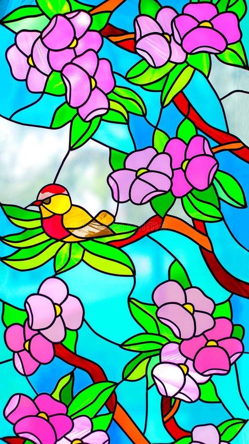 Buntglas-Fenster 6 lizenzfreie stockfotografie