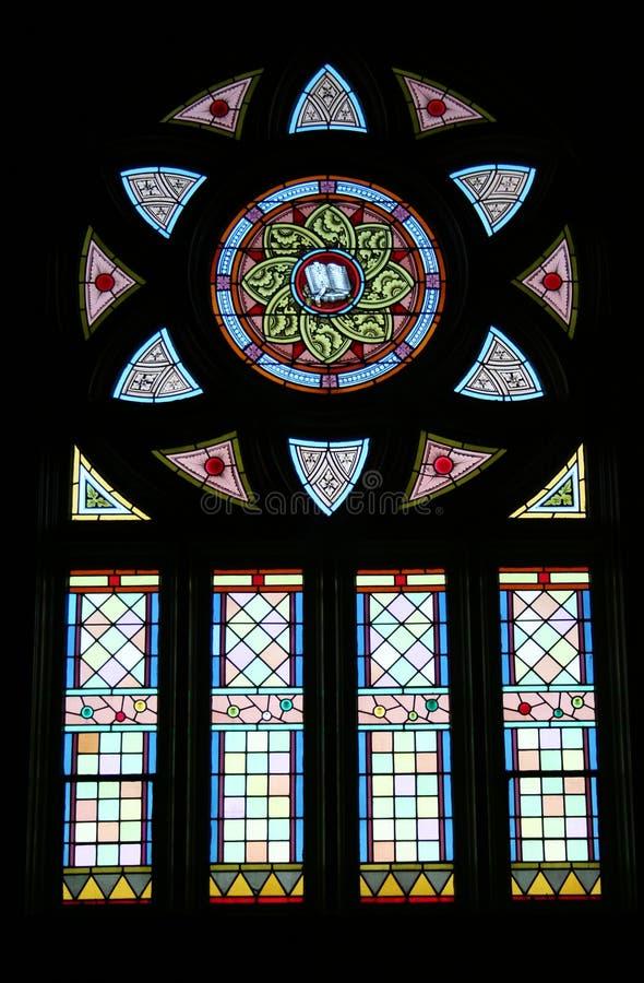 Buntglas-Fenster lizenzfreies stockbild