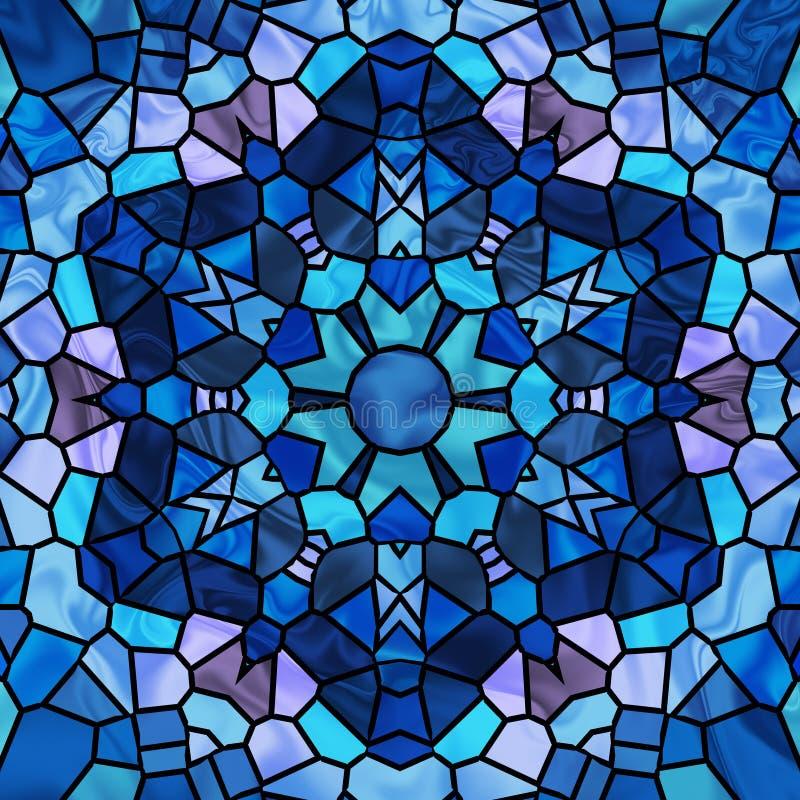 Buntglas-Stern vektor abbildung