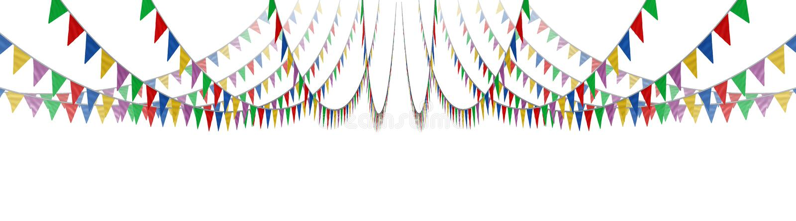 Download Bunting Flag Concept stock illustration. Image of festival - 32095593