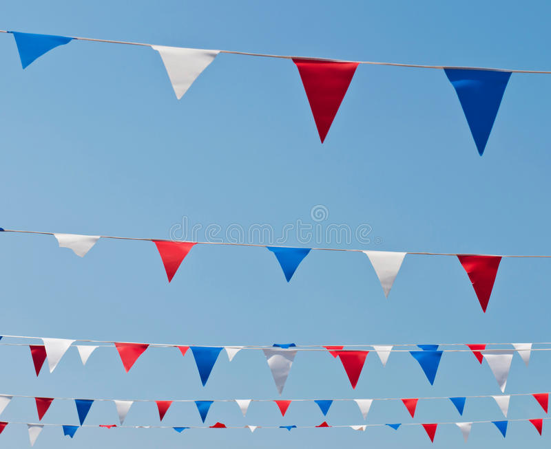 Download Bunting flags stock image. Image of banner, summer, flap - 27829455
