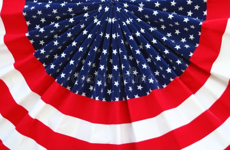 bunting patriotyczna obraz stock