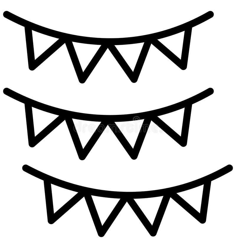 Buntings isolerad vektorsymbol som kan l?tt ?ndra eller redigera Buntings, den isolerade vektorsymbolen, som kan l?tt ?ndra eller stock illustrationer