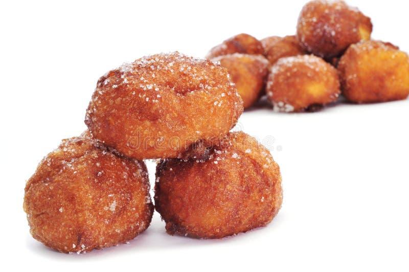 Download Bunyols De Quaresma, Typical Pastries Of Catalonia, Spain, Eaten Stock Image - Image of pastries, sweet: 38209119
