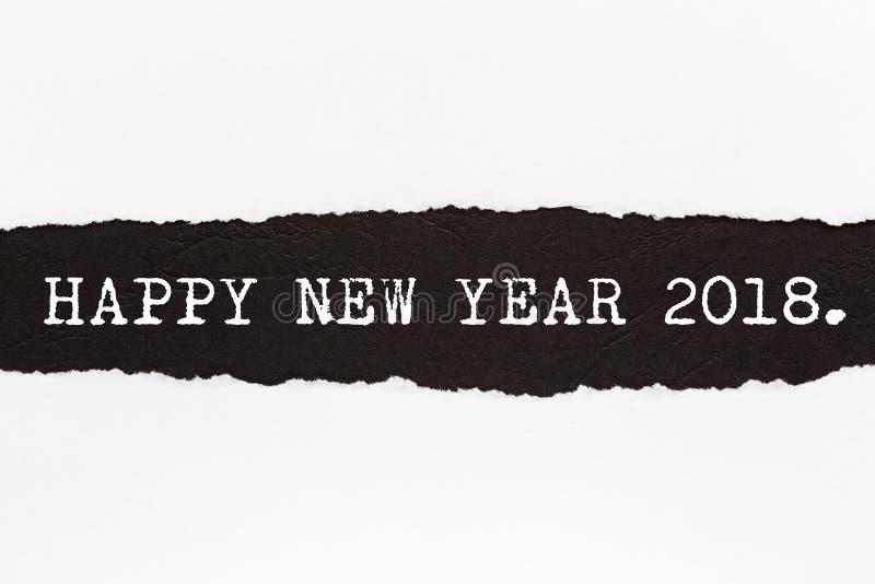 Buon anno 2018 immagini stock libere da diritti