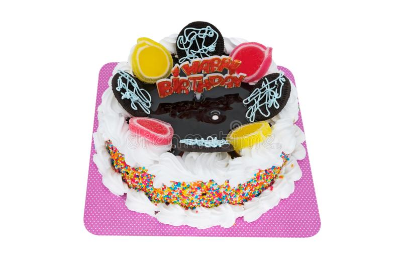 Buon compleanno del Torte immagini stock