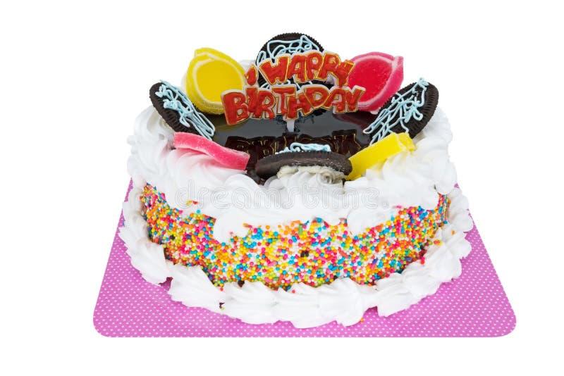 Buon compleanno del Torte fotografia stock