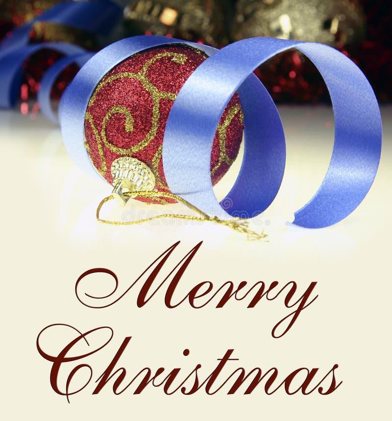 Download Buon Natale fotografia stock. Immagine di testo, anno - 7303862
