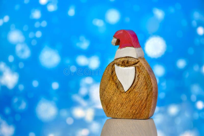 Buon Natale e buon anno adorabili 2019, con Santa Claus fotografia stock