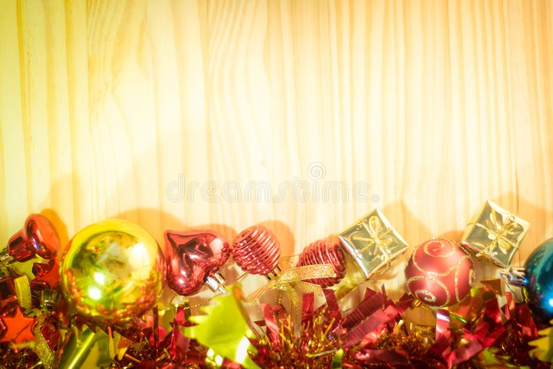 Buon Natale e buon anno background1 immagine stock