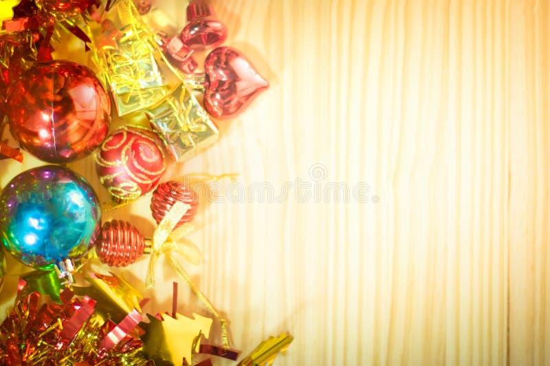Buon Natale e buon anno background1 fotografia stock libera da diritti