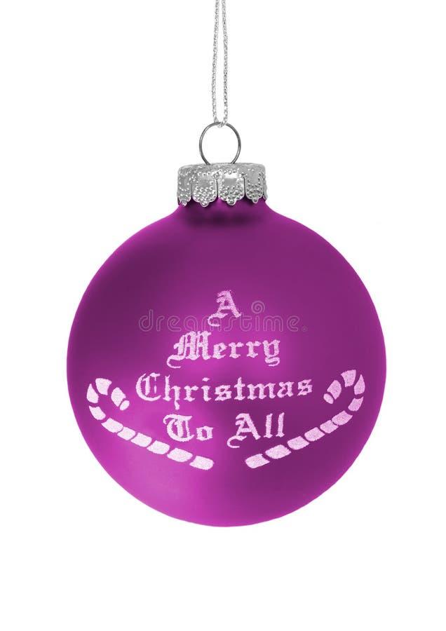 Buon Natale a tutti immagine stock