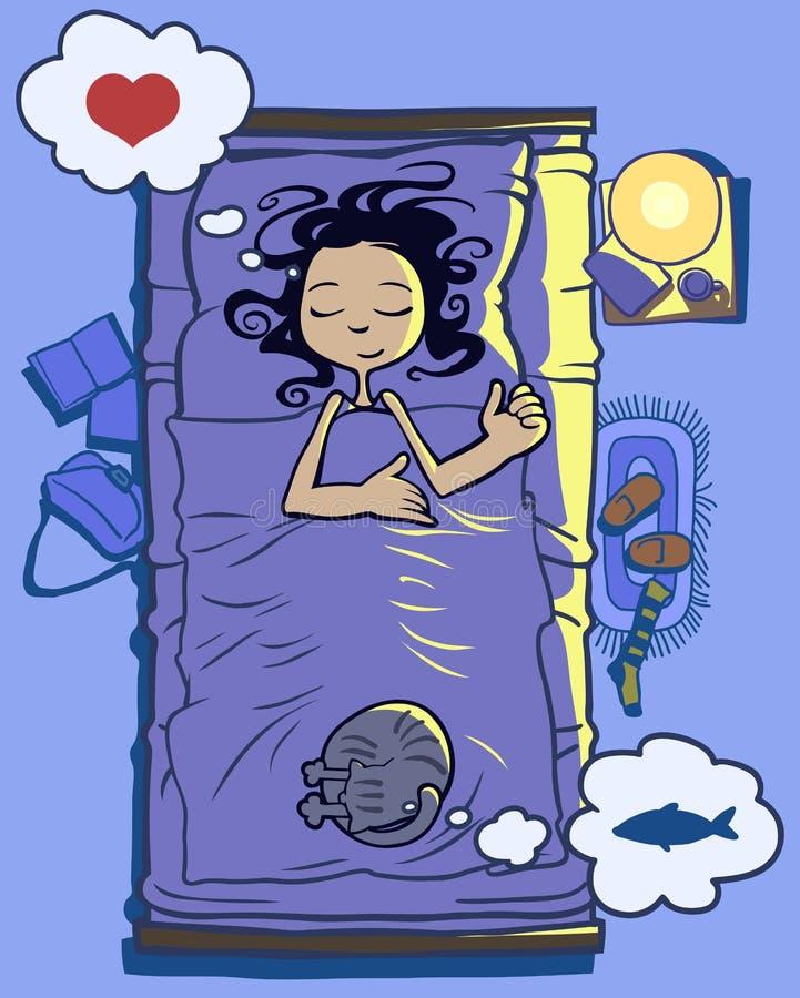 Buon sonno royalty illustrazione gratis