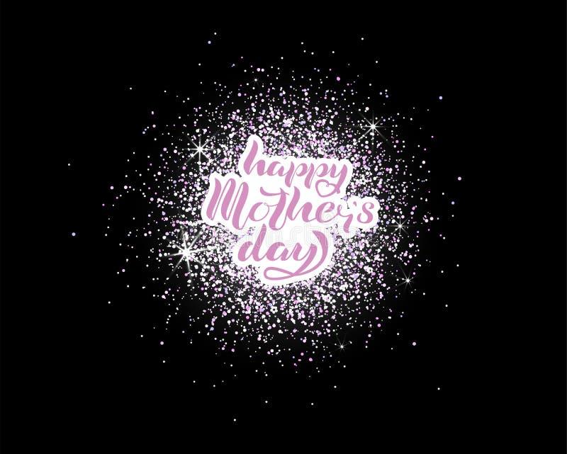 Buona Festa della Mamma segnando fotografia stock