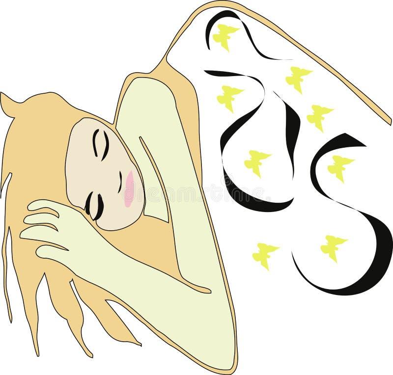 Download Buona notte illustrazione di stock. Illustrazione di sonno - 200988