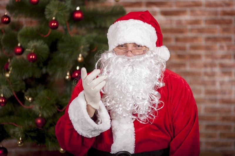 Buona Santa Claus immagine stock