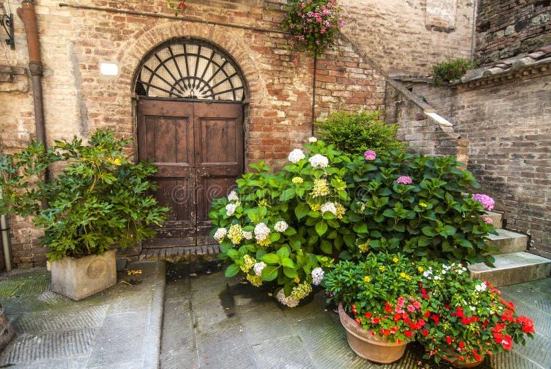 Buonconvento (Siena, Toscana) fotografía de archivo