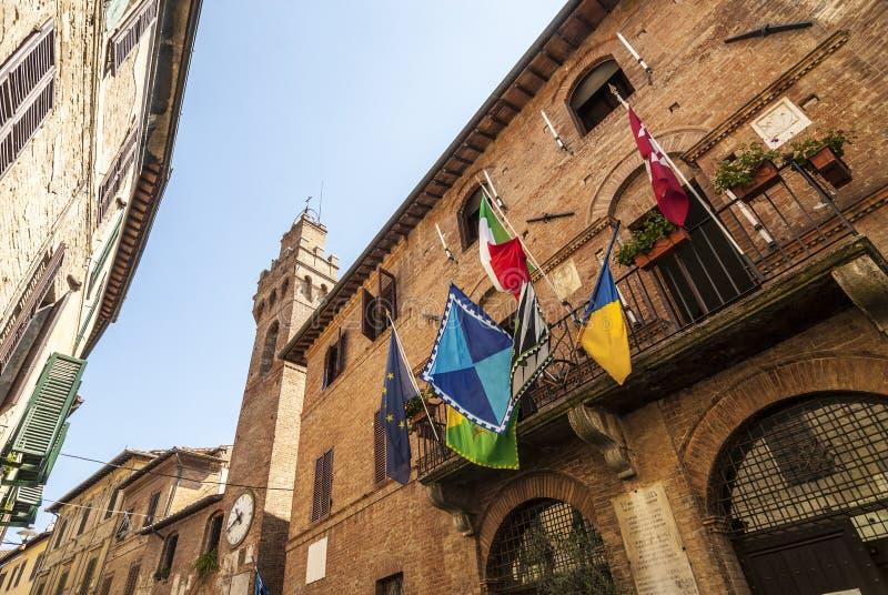 Download Buonconvento (Siena, Tuscany) Stock Photo - Image of palace, italy: 30340970