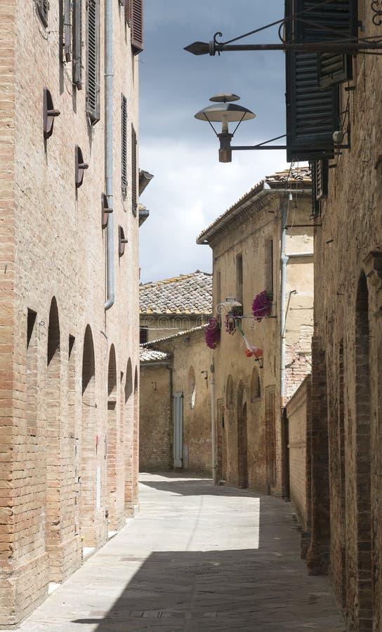 Buonconvento (Toscana, Italia) fotos de archivo libres de regalías