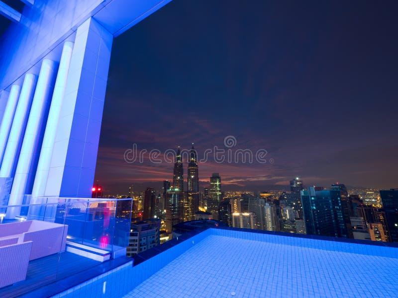 Buongiorno Kuala Lumpur fotografia stock libera da diritti