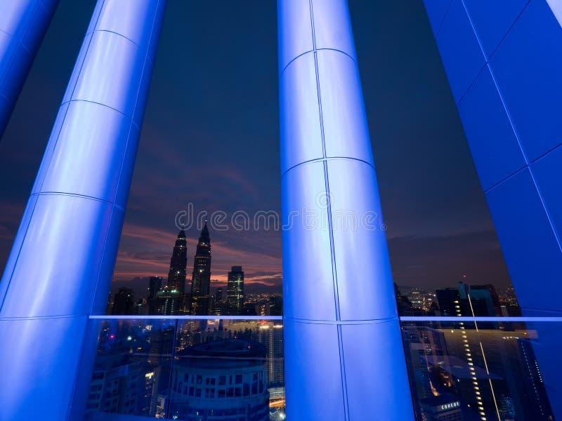 Buongiorno Kuala Lumpur fotografie stock libere da diritti