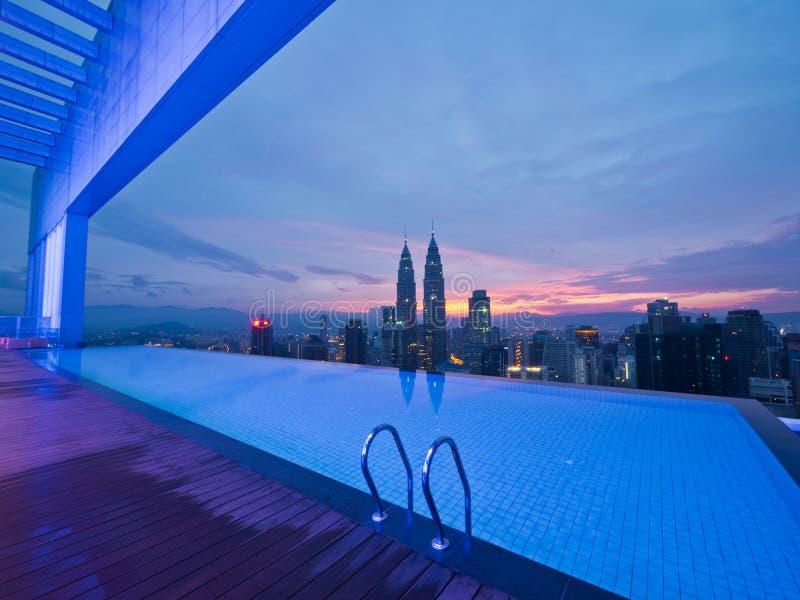 Buongiorno Kuala Lumpur fotografia stock
