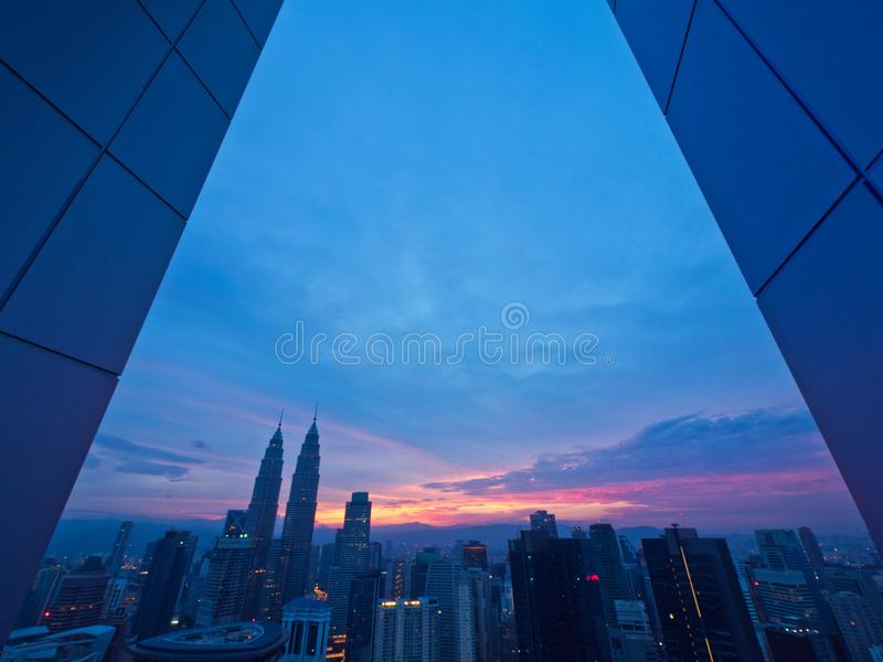 Buongiorno Kuala Lumpur immagini stock