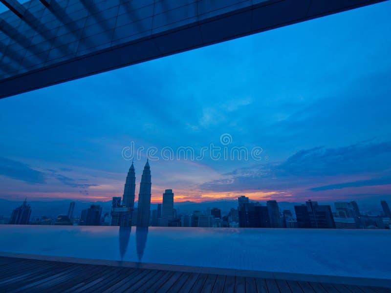 Buongiorno Kuala Lumpur fotografie stock
