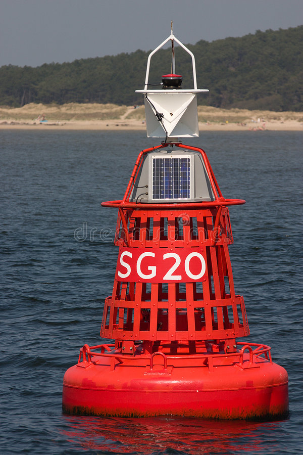 Download Buoy stock image. Image of water, anchored, beacon, powered - 1518239
