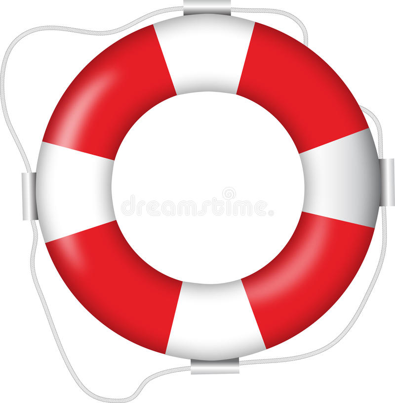 Download Buoy stock vector. Image of isolated, object, emergency - 18537132
