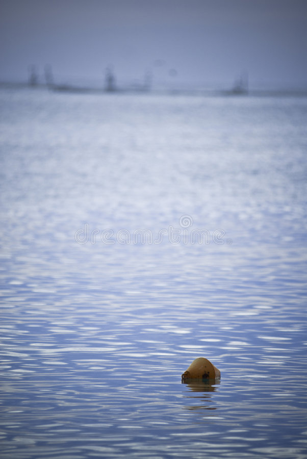 Download Buoy In Blue Sea Stock Photo - Image: 2902100