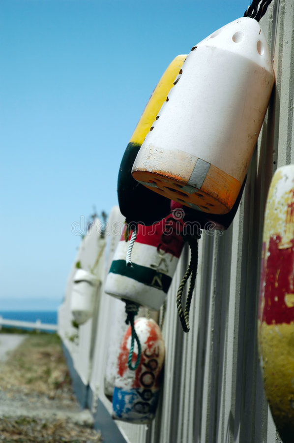 Download Buoys stock photo. Image of white, hang, buoy, colourful - 1030288