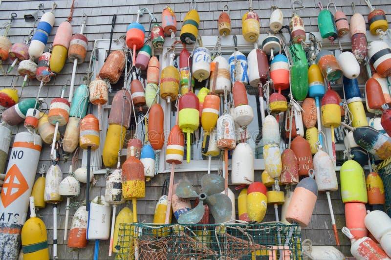 Buoys galore royalty free stock photo