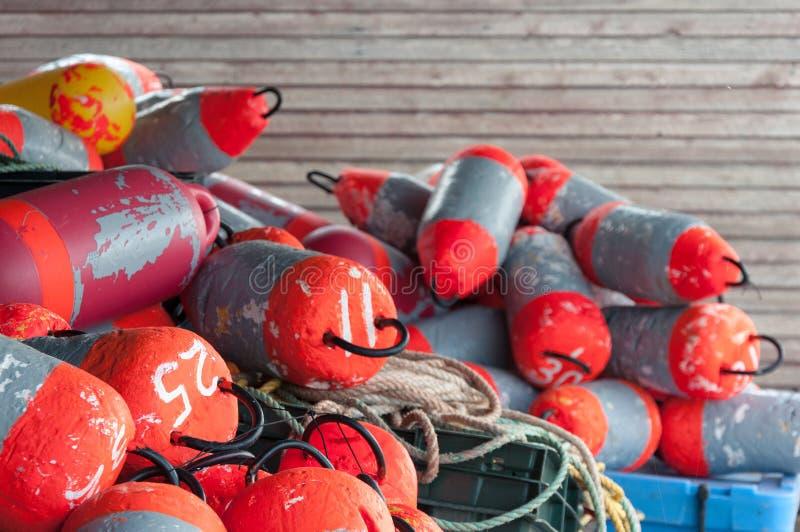 Buoys stock photo