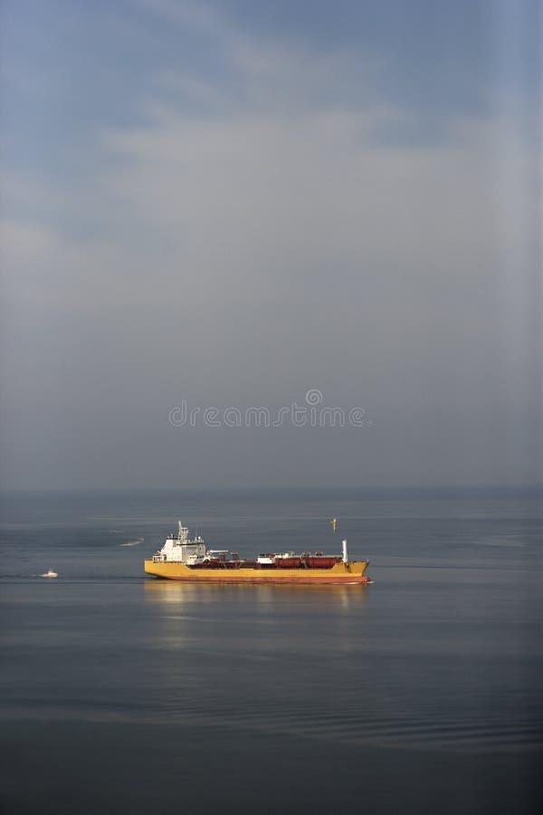 Buque de petróleo. imagen de archivo