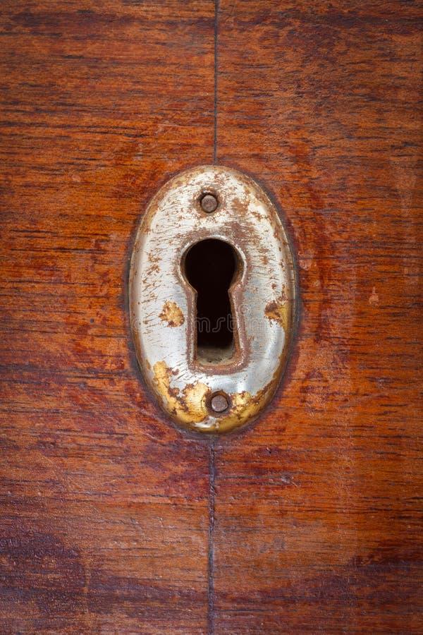 Download Buraco da fechadura foto de stock. Imagem de porta, metálico - 107529232
