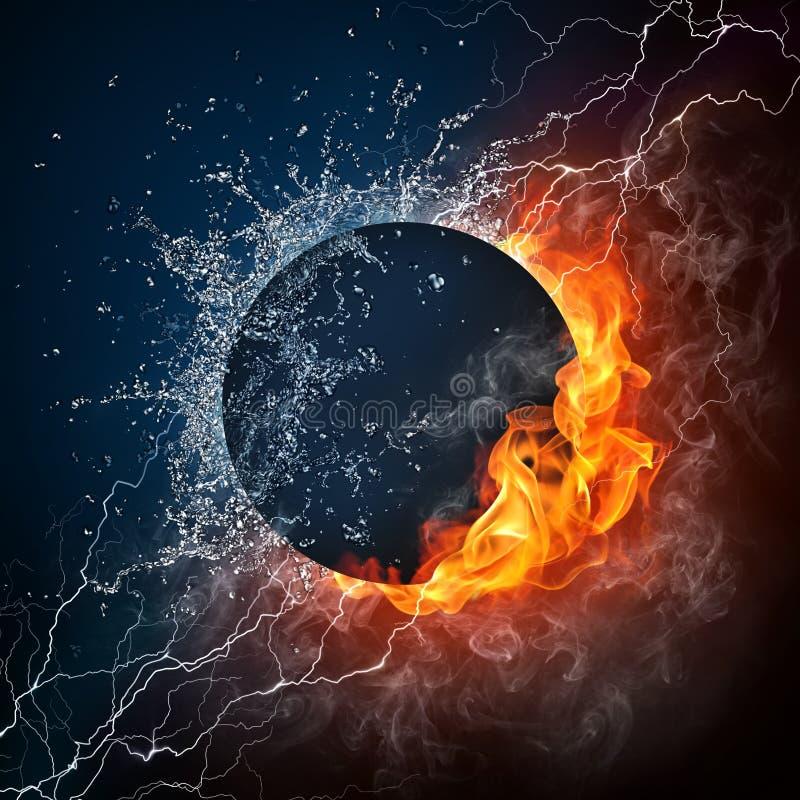Buraco negro ilustração do vetor
