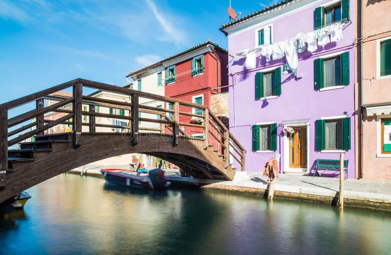 Burano威尼斯威尼托意大利欧洲 库存照片