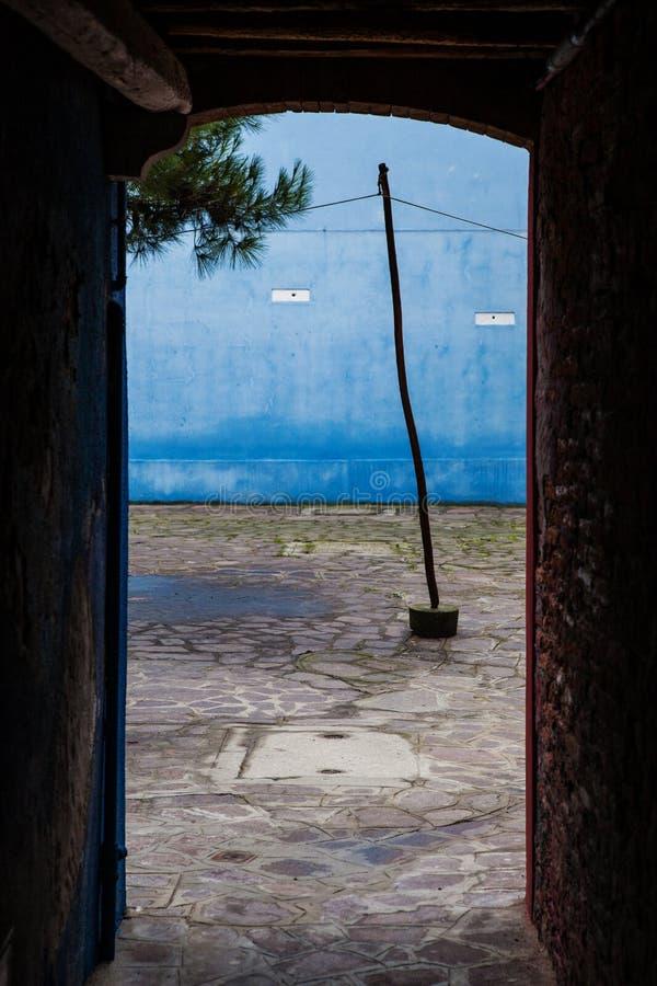 Burano, Βενετία, Ιταλία στοκ εικόνα με δικαίωμα ελεύθερης χρήσης