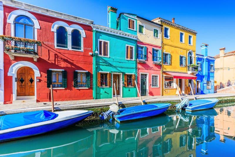 Burano, Италия стоковая фотография