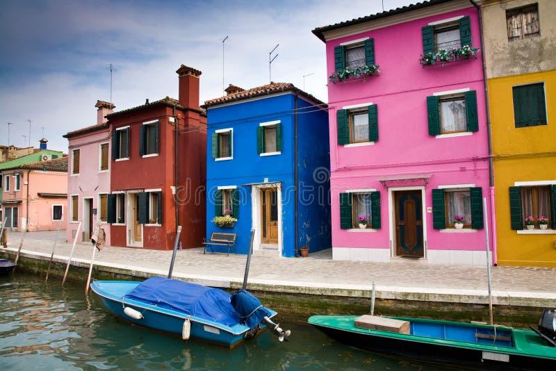 burano Италия стоковые фотографии rf