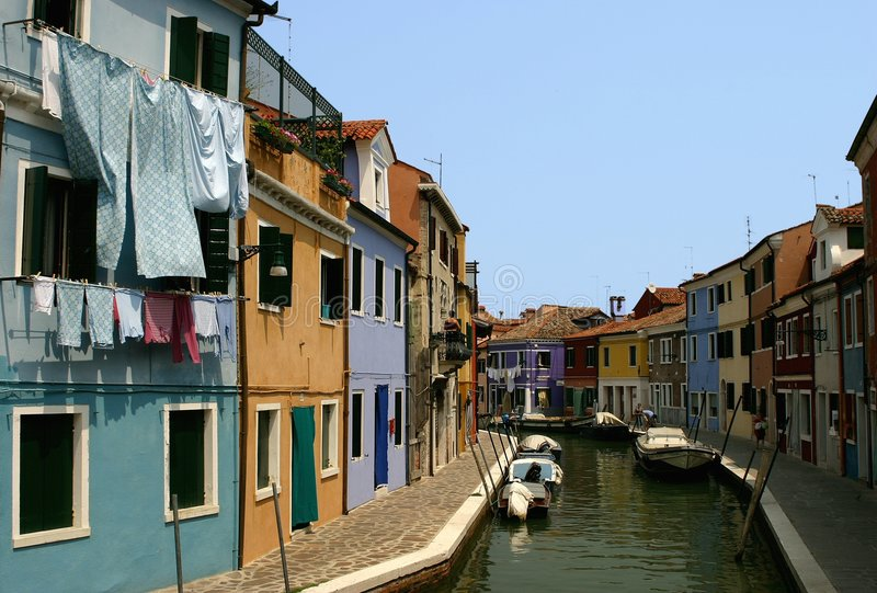 Burano foto de stock royalty free