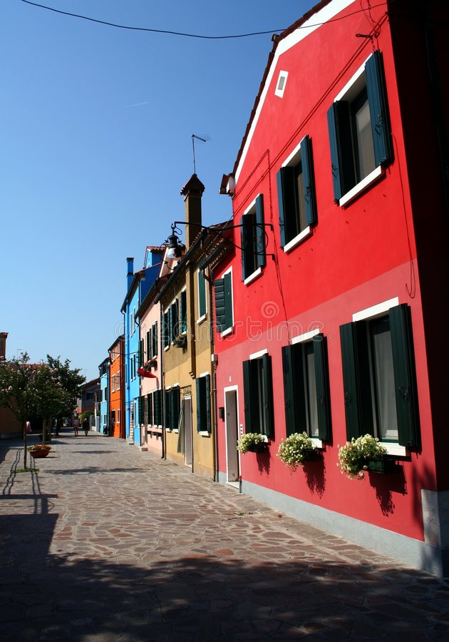 Download Burano fotografia stock. Immagine di italia, artista, quaint - 219004