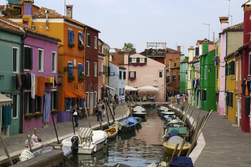 Burano, Italië royalty-vrije stock foto's