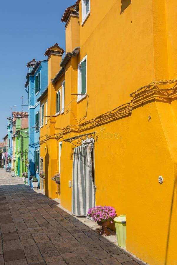 Burano, Italië royalty-vrije stock foto