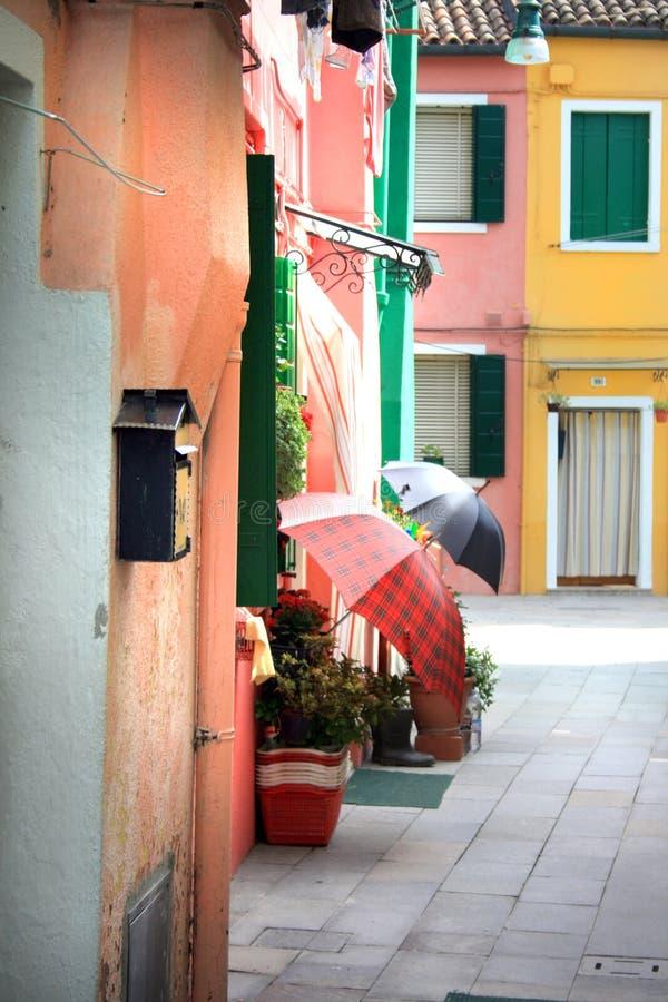 Burano, Italy foto de stock royalty free