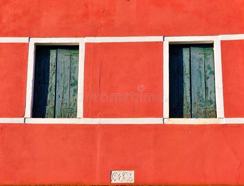 burano italy venice arkivbilder