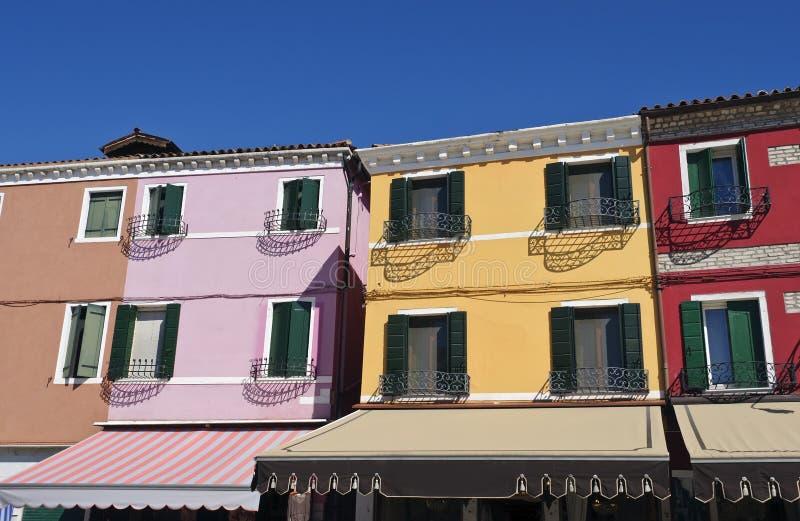 Burano, Venecia imagen de archivo
