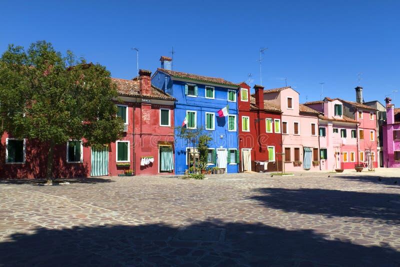 Burano, Venecia imagen de archivo libre de regalías